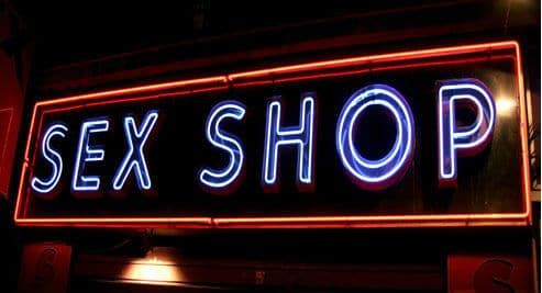Letreiro Sex Shop Neon